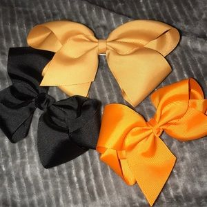 Hair Bow Trio